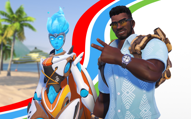 Ow Christmas Event 2020 Skins Summer Games   Overwatch