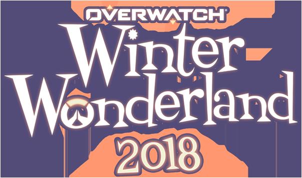 Overwatch Christmas 2019.Winter Wonderland Overwatch