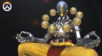 zenyatta cosplay - Overwatch su Nintendo Switch? Forse.