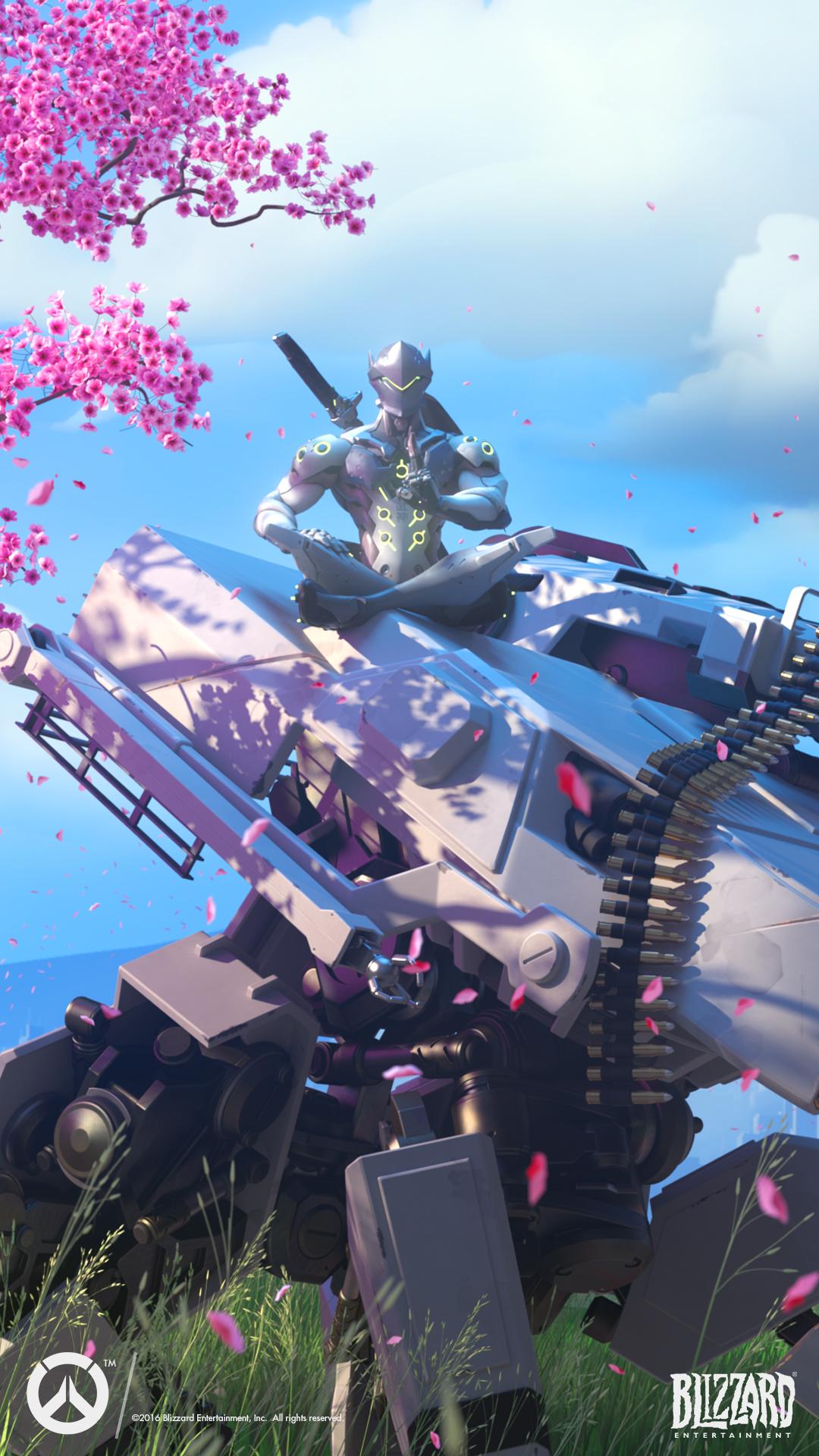 Genji - Heroes - Overwatch